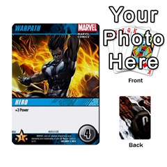 Dcdb Xmen 3 By Mark   Playing Cards 54 Designs   Pn84muycqu58   Www Artscow Com Front - Diamond9
