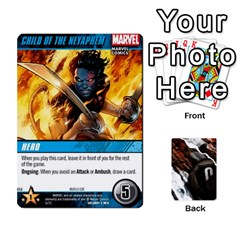Dcdb Xmen 3 By Mark   Playing Cards 54 Designs   Pn84muycqu58   Www Artscow Com Front - Diamond10