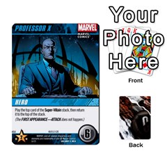 Jack Dcdb Xmen 3 By Mark   Playing Cards 54 Designs   Pn84muycqu58   Www Artscow Com Front - DiamondJ