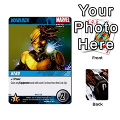 Dcdb Xmen 3 By Mark   Playing Cards 54 Designs   Pn84muycqu58   Www Artscow Com Front - Spade10