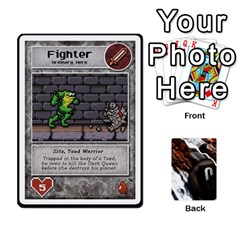 Dcdb Marvel Starters  By Mark   Playing Cards 54 Designs   N4cgu2c8vhc8   Www Artscow Com Front - Heart6