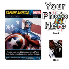 Dcdb Marvel Starters  By Mark   Playing Cards 54 Designs   N4cgu2c8vhc8   Www Artscow Com Front - Heart8
