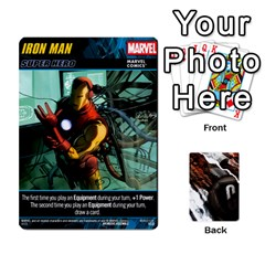 Dcdb Marvel Starters  By Mark   Playing Cards 54 Designs   N4cgu2c8vhc8   Www Artscow Com Front - Heart10