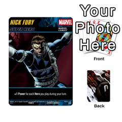 Jack Dcdb Marvel Starters  By Mark   Playing Cards 54 Designs   N4cgu2c8vhc8   Www Artscow Com Front - HeartJ