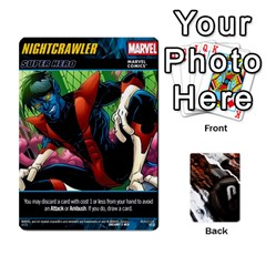 Ace Dcdb Marvel Starters  By Mark   Playing Cards 54 Designs   N4cgu2c8vhc8   Www Artscow Com Front - HeartA