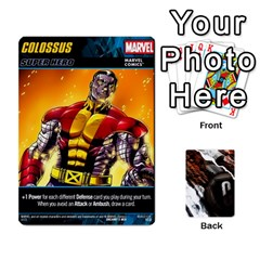 Dcdb Marvel Starters  By Mark   Playing Cards 54 Designs   N4cgu2c8vhc8   Www Artscow Com Front - Diamond2