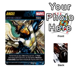 Dcdb Marvel Starters  By Mark   Playing Cards 54 Designs   N4cgu2c8vhc8   Www Artscow Com Front - Diamond4