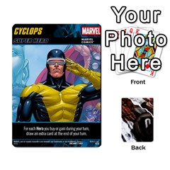 Dcdb Marvel Starters  By Mark   Playing Cards 54 Designs   N4cgu2c8vhc8   Www Artscow Com Front - Diamond6