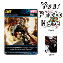 Dcdb Marvel Starters  By Mark   Playing Cards 54 Designs   N4cgu2c8vhc8   Www Artscow Com Front - Diamond9