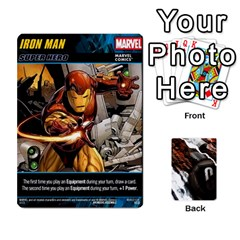 Dcdb Marvel Starters  By Mark   Playing Cards 54 Designs   N4cgu2c8vhc8   Www Artscow Com Front - Diamond10