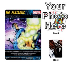 Dcdb Marvel Starters  By Mark   Playing Cards 54 Designs   N4cgu2c8vhc8   Www Artscow Com Front - Club2