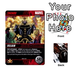 Dcdb Marvel Starters  By Mark   Playing Cards 54 Designs   N4cgu2c8vhc8   Www Artscow Com Front - Club3