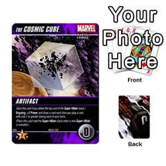 Dcdb Marvel Starters  By Mark   Playing Cards 54 Designs   N4cgu2c8vhc8   Www Artscow Com Front - Club4