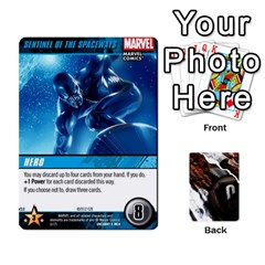 Jack Dcdb Marvel Starters  By Mark   Playing Cards 54 Designs   N4cgu2c8vhc8   Www Artscow Com Front - ClubJ