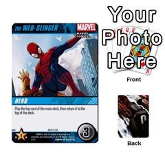 King Dcdb Marvel Starters  By Mark   Playing Cards 54 Designs   N4cgu2c8vhc8   Www Artscow Com Front - ClubK