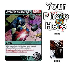 Dcdb Marvel Starters  By Mark   Playing Cards 54 Designs   N4cgu2c8vhc8   Www Artscow Com Front - Joker1