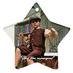David as Tiny Tim 2013 - Star Ornament (Two Sides)