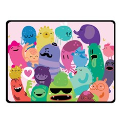 Happy monsters Fleece Blanket (Small) by Contest1771913