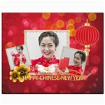 chinese new year - Canvas 8  x 10