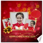 chinese new year - Canvas 12  x 12