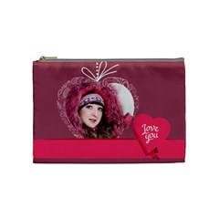 Love By Ki Ki   Cosmetic Bag (medium)   Vyliuznu2v6h   Www Artscow Com Front