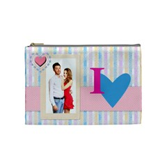 Love By Ki Ki   Cosmetic Bag (medium)   Nkw8mcdo47hl   Www Artscow Com Front