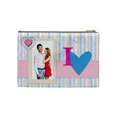 Love By Ki Ki   Cosmetic Bag (medium)   Nkw8mcdo47hl   Www Artscow Com Back