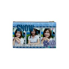 Winter By Jo Jo   Cosmetic Bag (small)   Nzczt3f7p9ol   Www Artscow Com Back