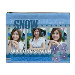 Winter By Jo Jo   Cosmetic Bag (xl)   K8pro7l0szcg   Www Artscow Com Front