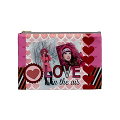 Love By Ki Ki   Cosmetic Bag (medium)   Bpfhu7x3j1dw   Www Artscow Com Front