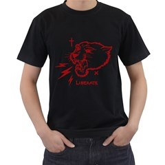 Liberate Mens' Two Sided T-shirt (Black) by Contest1810159