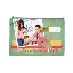 Kids By Kids   Cosmetic Bag (large)   4m7c6soohlhx   Www Artscow Com Front