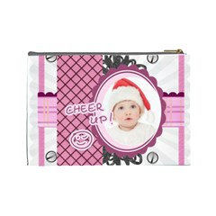 Baby By Betty   Cosmetic Bag (large)   Enm128u78vxm   Www Artscow Com Back