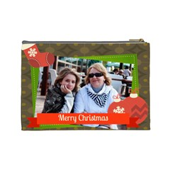 Xmas By Betty   Cosmetic Bag (large)   R9rh6u1l8bdv   Www Artscow Com Back