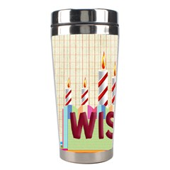 Happy Birthday By Betty   Stainless Steel Travel Tumbler   Bilhy43oq2ab   Www Artscow Com Left