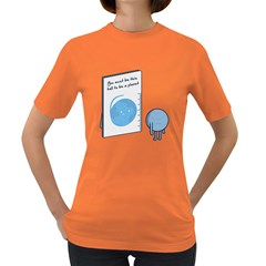 This Tall, Pluto Womens' T Shirt (colored)
