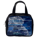 I am a child of God scripture case with clouds LOGAN - Classic Handbag (One Side)