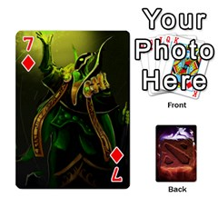 Dota 2 Pack By Arkalagar   Playing Cards 54 Designs   Bm4jc4bk12hy   Www Artscow Com Front - Diamond7