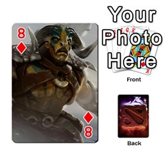 Dota 2 Pack By Arkalagar   Playing Cards 54 Designs   Bm4jc4bk12hy   Www Artscow Com Front - Diamond8