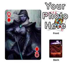 Queen Dota 2 Pack By Arkalagar   Playing Cards 54 Designs   Bm4jc4bk12hy   Www Artscow Com Front - DiamondQ