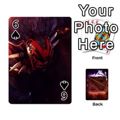Dota 2 Pack By Arkalagar   Playing Cards 54 Designs   Bm4jc4bk12hy   Www Artscow Com Front - Spade6