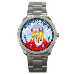 2003 Dreamscape Logo  Sport Metal Watch from ArtsNow.com Front