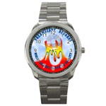 2003 Dreamscape Logo  Sport Metal Watch