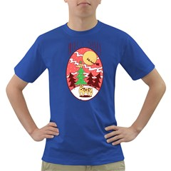 Hello Santa Mens' T Shirt (colored)