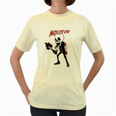 Molotov  Womens  T Shirt (yellow)