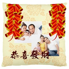 Chinese New Year By Ch   Large Cushion Case (two Sides)   Hm7jmmsnv8lt   Www Artscow Com Back