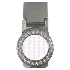 Allover Graphic Soft Pink Money Clip (cz) by ImpressiveMoments