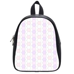 Allover Graphic Soft Pink School Bag (small) by ImpressiveMoments