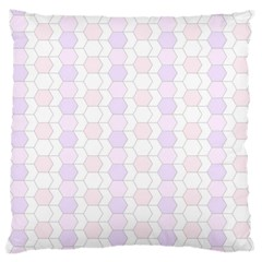 Allover Graphic Soft Pink Large Cushion Case (single Sided)  by ImpressiveMoments
