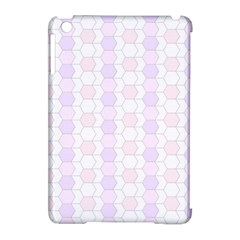 Allover Graphic Soft Pink Apple Ipad Mini Hardshell Case (compatible With Smart Cover) by ImpressiveMoments